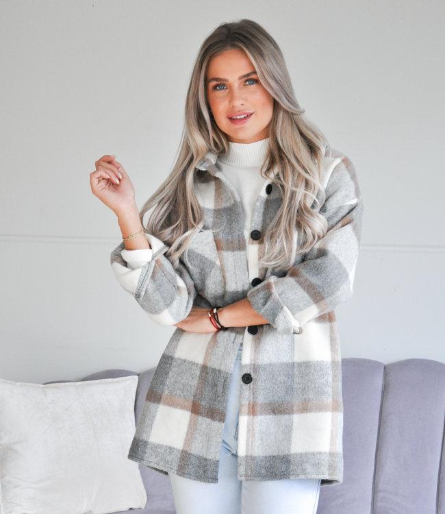 TESS V Dionne jacket grey