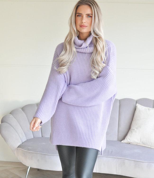 TESS V Emilia sweater lila