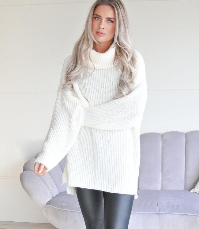 TESS V Emilia sweater white
