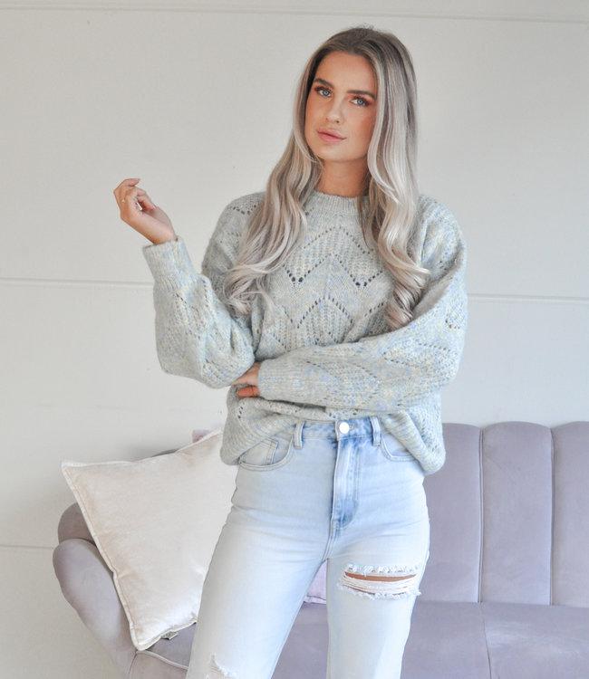 TESS V Emma sweater blue