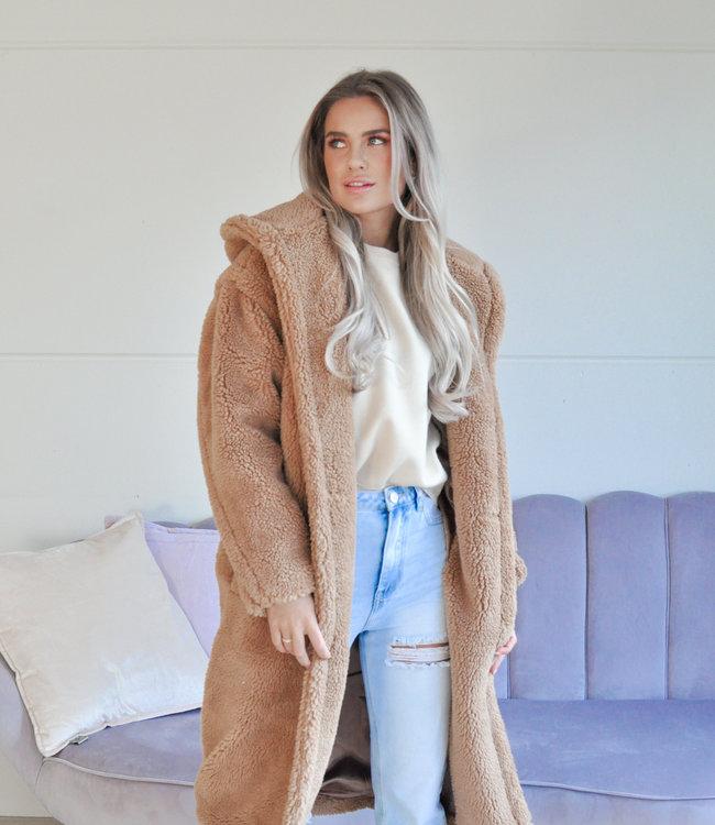 Julia coat camel