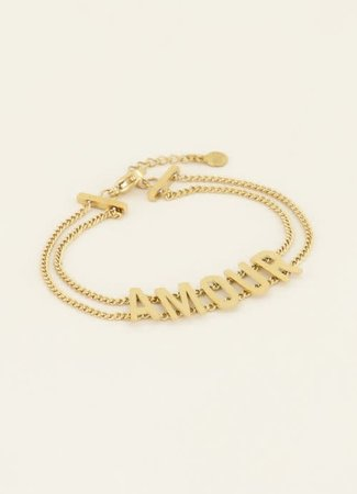 Amour armband
