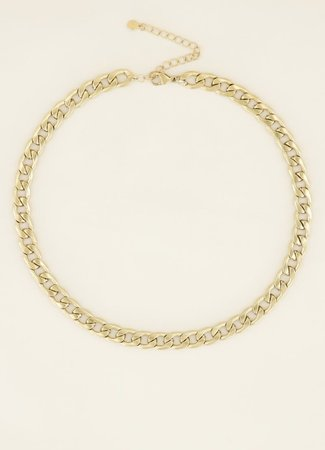 My Jewellery Ketting met platte schakels