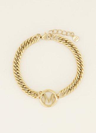My Jewellery Armband chunky initials