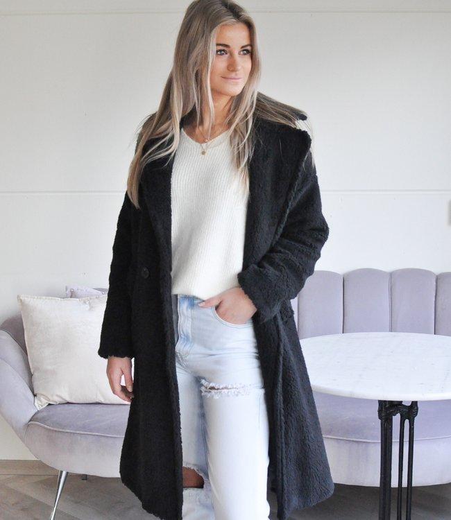 TESS V Alicia coat black