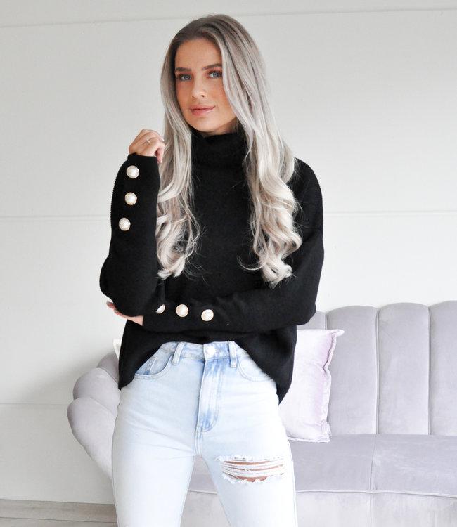 TESS V Harper sweater black