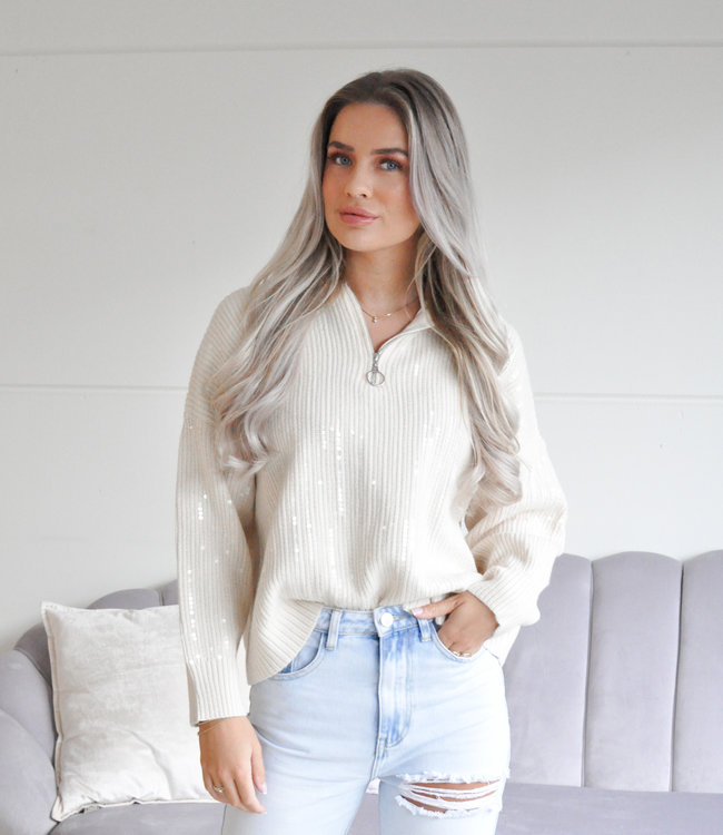 TESS V Mau glamour sweater