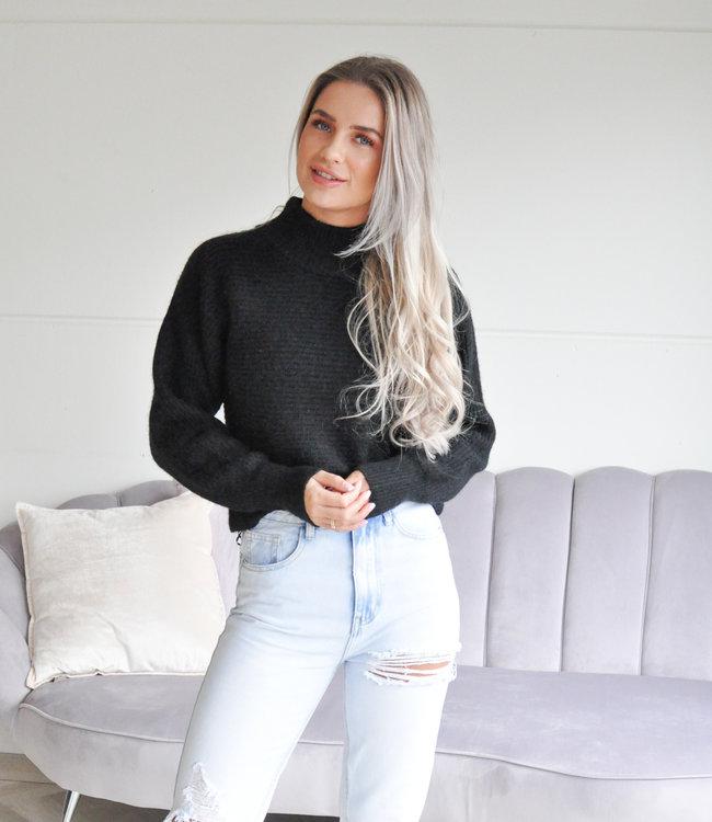TESS V Tari sweater black