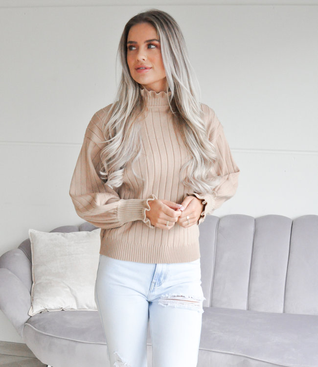 TESS V Kaylee sweater beige