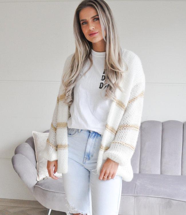 TESS V Manon vest white