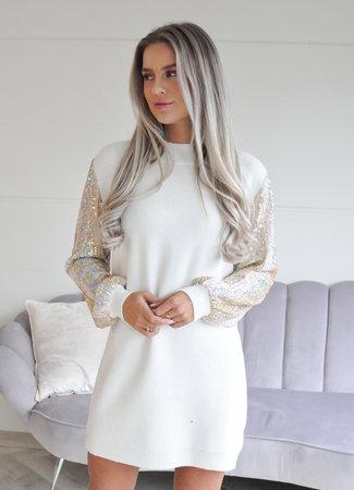 TESS V Olivia glitter sweater