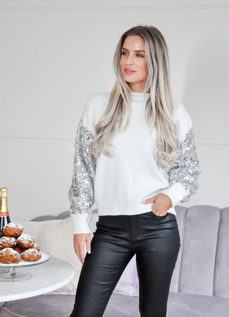 TESS V Yvie sweater silver