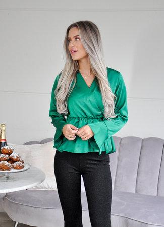 TESS V Roos blouse green