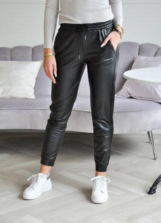 TESS V Bibi leather pants