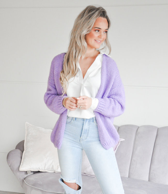 Jessie vest purple