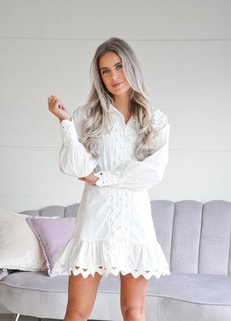 TESS V Veronique dress white