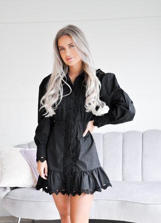 TESS V Veronique dress black
