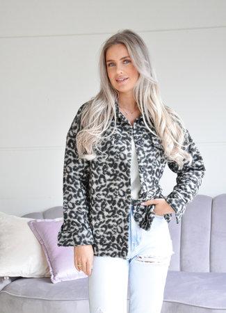 TESS V Scotti jacket grey