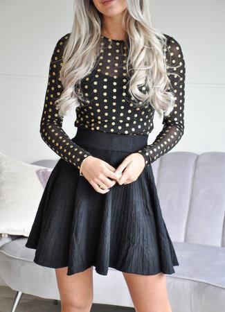 TESS V Joy skirt black