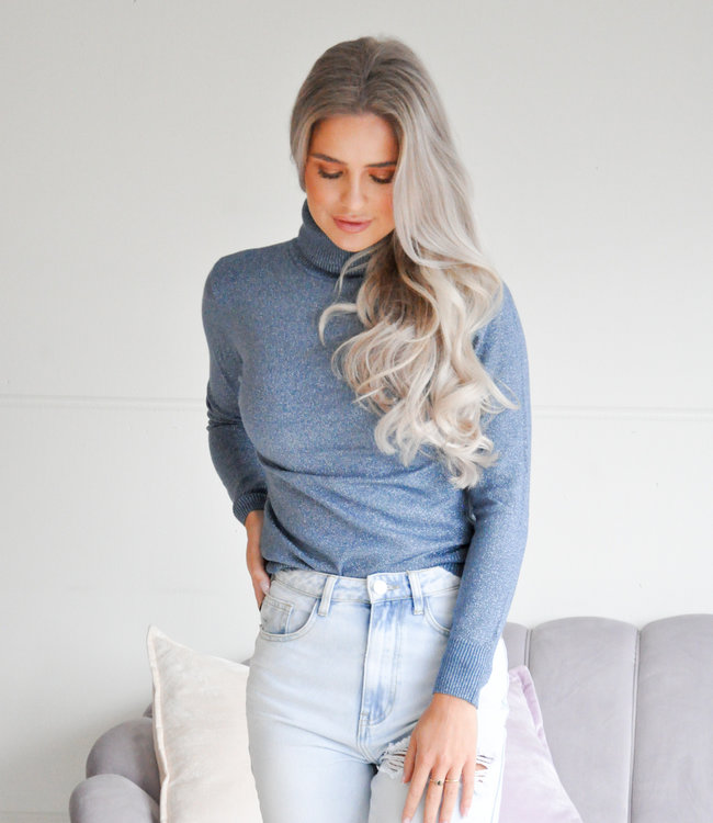 TESS V Elsa glitter col jeans