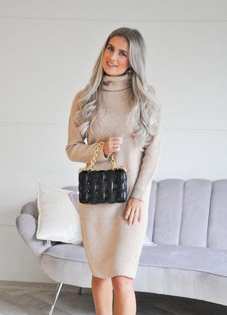 TESS V Fabienne dress beige