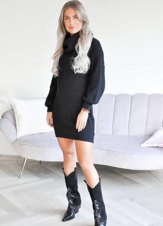 TESS V Isabeau col sweater black