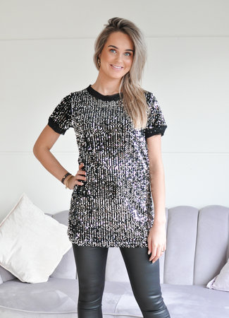 TESS V Zeynep glitter dress