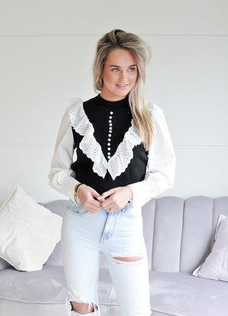 TESS V Aisha sweater black