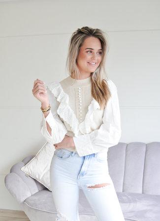 TESS V Aisha sweater beige