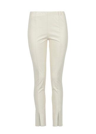 MISS Sam leather legging beige
