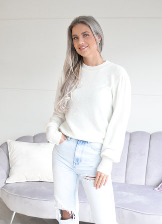 Ambika Nadine sweater white