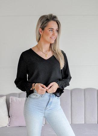 TESS V Elsa blouse black
