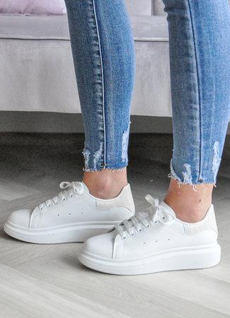TESS V Alexie sneakers beige croco