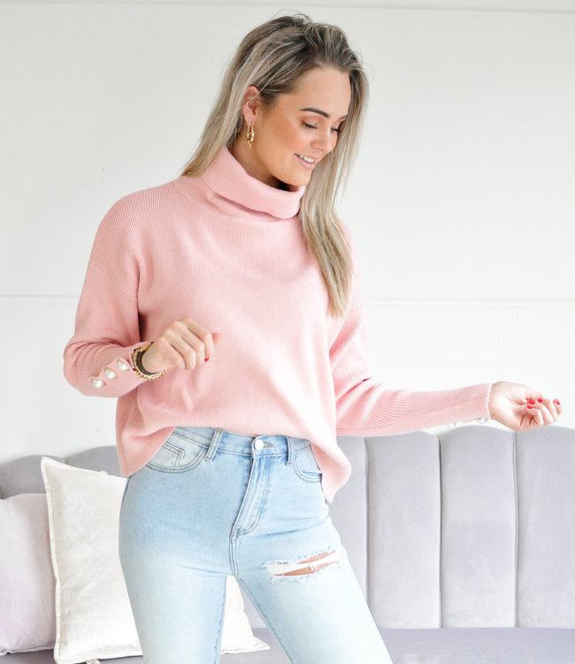 Senna sweater pink