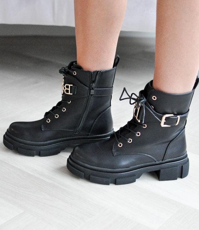 BB boots black