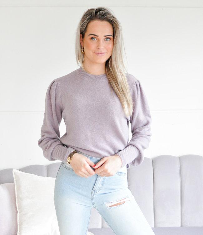 Nadine sweater lila