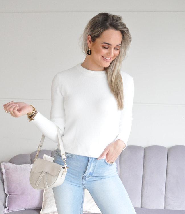 Pam sweater white