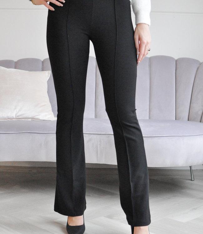 Jolie flared pants black