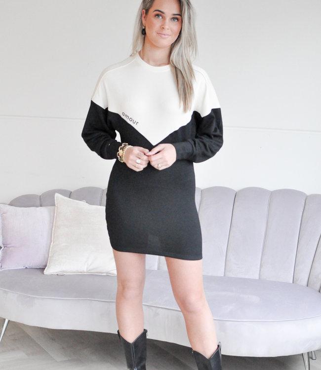 Marije dress black