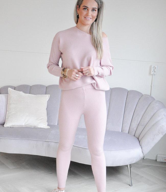 TESS V Norie comfy set pink