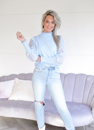 TESS V Iconic top blue
