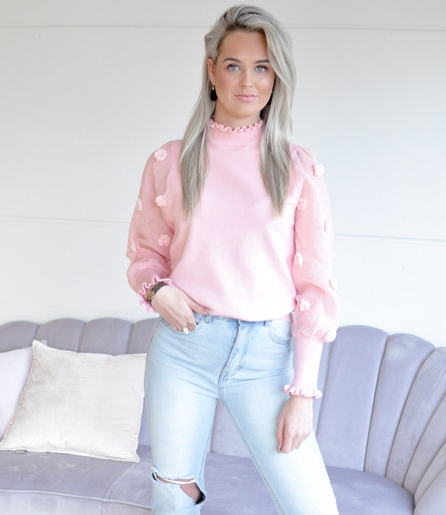TESS V Iconic top pink