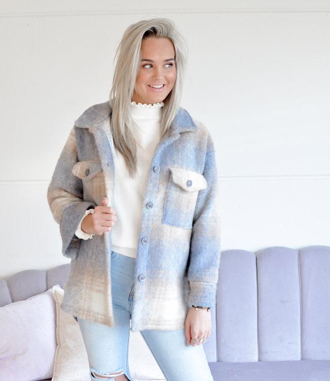TESS V Kiana jacket blue
