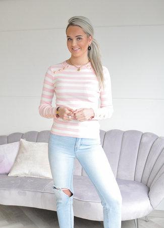TESS V Fieve top pink
