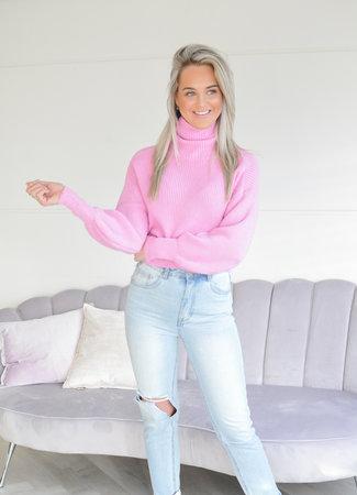 TESS V Nila knit pink