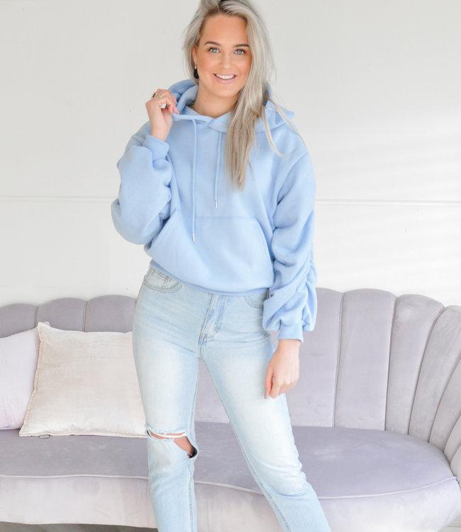 Jane hoodie blue