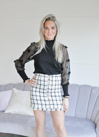 TESS V Lola skirt black