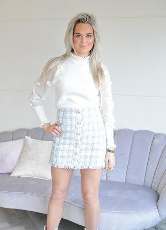 TESS V Lola skirt blue