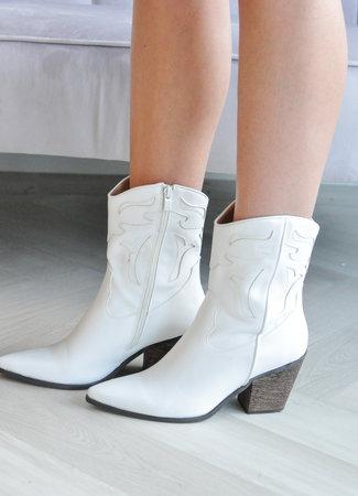 TESS V Juna boots white