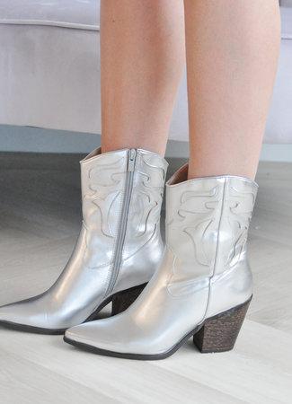 TESS V Juna boots silver